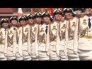 Главным оружием на параде 9 Мая стала путинская «армия в мини юбках»