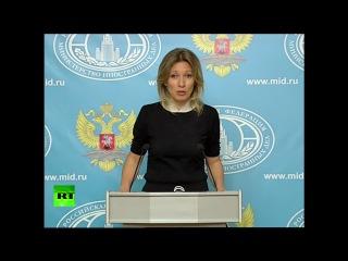 Мария Захарова рассказала анекдот про президента Украины и Крым