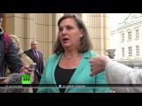 Виктория Нуланд: США настаивают на скорейшем выполнении минских договоренностей