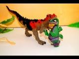 Динозавры. Маленький дразнилка. Мультик для детей. Игрушки.