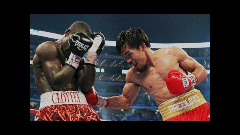 Manny Pacquiao vs Joshua Clottey Highlights Pacquiao's Legendary SPEED