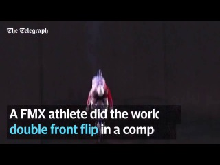 Double front Flip Nitro World Circus 2016