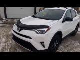 2016 Toyota Rav4 SE AWD in Alpine White Review and Walk Around Test Drive
