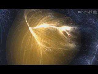 Ланиакея - один из суперкластеров вселенской паутины