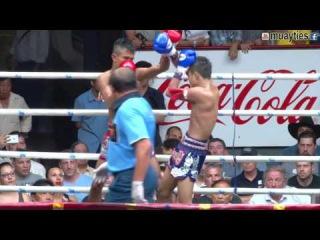 Muay Thai-Rungnarai vs Satanmuanglek(รุ้งนารายณ์ vs สะท้านเมืองเล็ก ),Rajadamnern St, Bangkok,9.5.16 muay thai-rungnarai vs sata