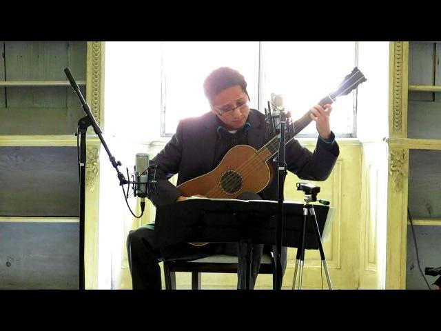 Sabionari guitar 1679 by A.Stradivari - Krishnasol Jimenéz plays F.Corbetta - Ciaccona