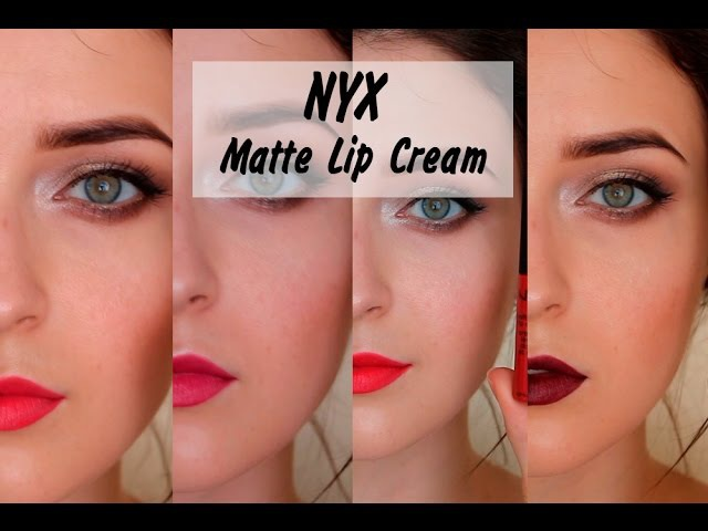 NYX | Soft Matte Lip Cream | СВОТЧ - ОБЗОР | MsAllatt
