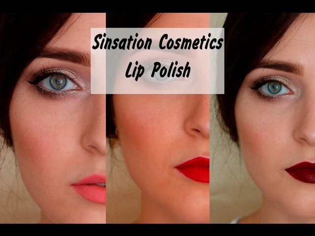 Sinsation Cosmetics | Lip Polish | СВОТЧ - ОБЗОР | MsAllatt