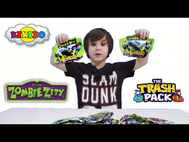 Игрушки Zombie Zity. Монстры на колесах. Распаковка. Обзор. Видео для детей. Кикидо