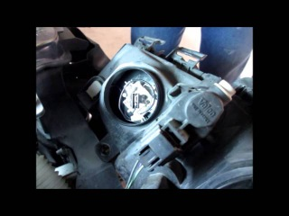 Renault Megane 2 - desmontar para-choque para mudar lâmpadas