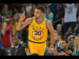 #Stephen_Curry 16-0 [GS Warriors vs Lakers] #NBA