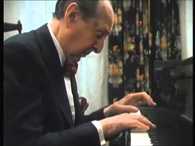 Владимир Горовиц - Шопен Mazurka in A Minor, Opus 17, No.4