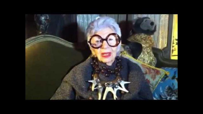 Iris Apfel Im not just some empty-headed fashionista