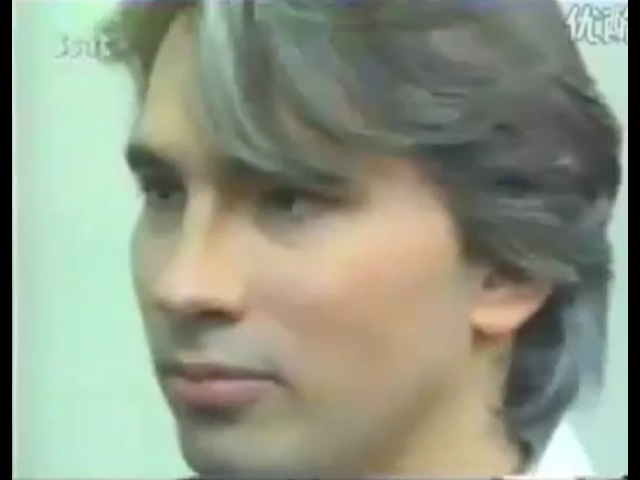 Д. Хворостовский   D. Hvorostovsky interview in Germany 1992 (English, German subtitles)