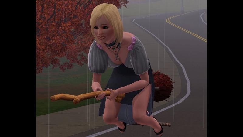 The Sims 3 Жизнь Джастина Мида 025 Все женщины ведьмы