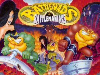Battletoads in Battlemaniacs. SEGA [Прохождение / Walkthrough]