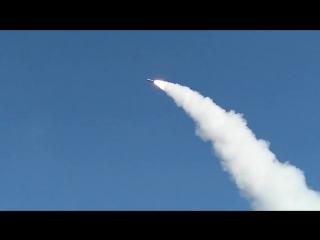 Боевой пуск крылатой ракеты ОТРК «Искандер-М» на полигоне Капустин Яр