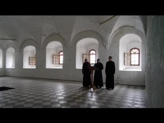 2016-06-12 Александро-Свирский монастырь. Братия исполяет песнопения