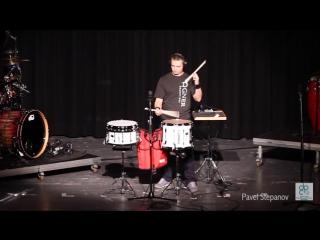 Pavel Stepanov Drum Percussion camp 2015 (Switzerland)