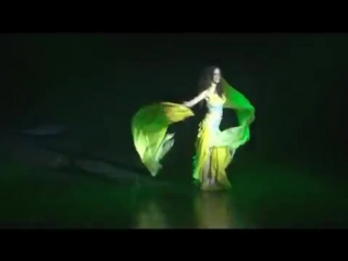 stefania belly dancer fan veils 63