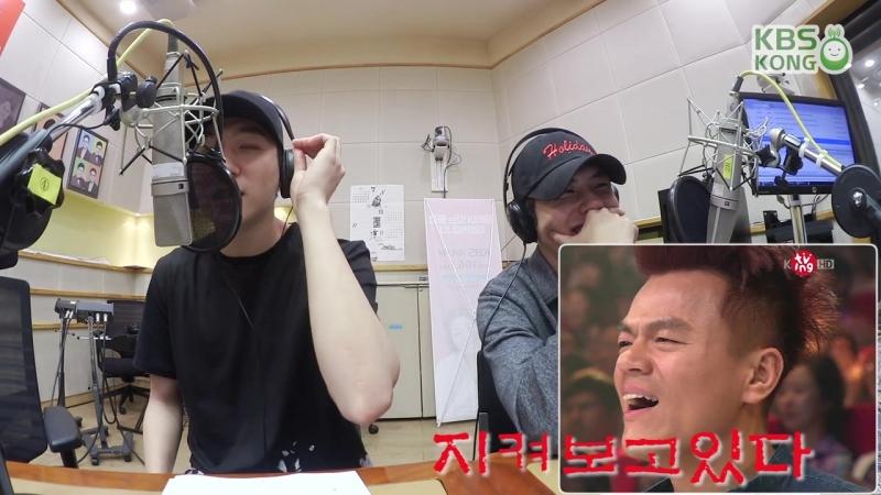 [Радио] 160829 DAY6 (데이식스) 성진! JYP 박진영 (사장님) 따라하기! [행복한 두시 조성모입니다]