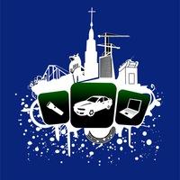 Логотип Encounter - ночные экстремальные игры в Тамбове