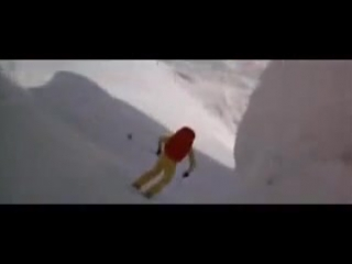 roger moore james bond parachute ski jump