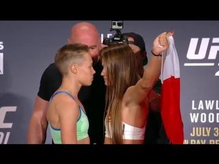 UFC201/Rose Namajunas VS Karolina Kowalkiewicz\