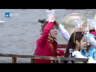 Running man china s3 (hurry up, brother) ep.1 - 2 часть (151030) [рус.саб]