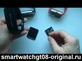 Обзор smart watch gt08 для iOS и Android