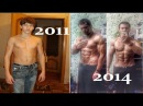 Insane 4 Years Street Workout Transformation - Dmitry Kuznetsov From Zero To Hero Дмитрий Кузнецов