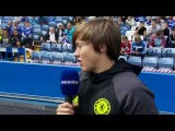 OPEN TRAINING: Fran Kirby on the Chelsea Ladies at open training
