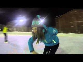 Катаемся на коньках ФУТЛУС