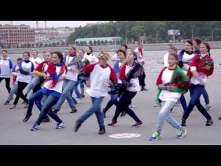 Русь танцевальная Всероссийский флешмоб - г. Санкт-Петербург