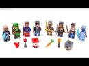 LEGO Minecraft Skin Packs 1 2 reviewed!