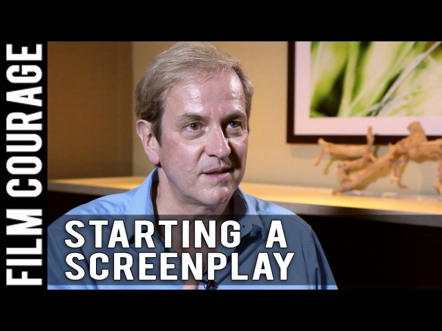 First Step In Writing A Screenplay by Peter Russell