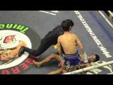 Johny Fightlab knockouts 15 year old 60 muaythai fights