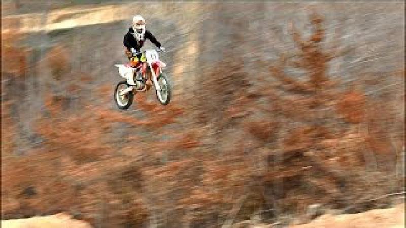 DANNY DUNN - 200 FOOT JUMP 5TH GEAR PINNED - DUNN'S PLAYGROUND MX