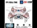 Cheerson CX-10W CX10W Wifi Супер мини дрон с камерой