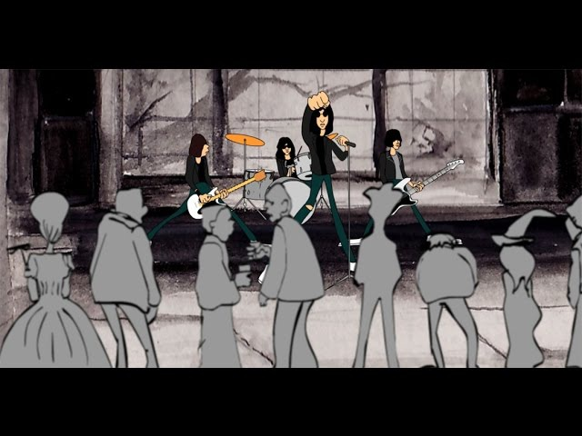 Ramones Cartoon Basement Redux