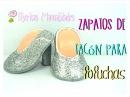 DIY Zapatos de tacón para fofuchas TijeritasManualidades