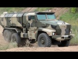 Industrie Russland - Ural-63099 Typhoon MRAP Vehicle &amp Other Military Trucks 720p