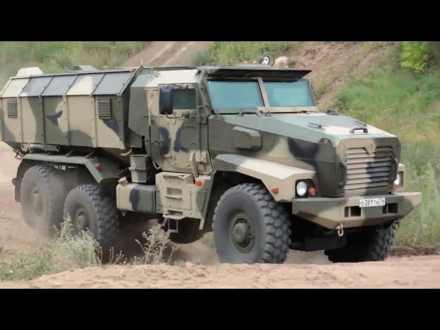 Industrie Russland - Ural-63099 Typhoon MRAP Vehicle Other Military Trucks [720p]