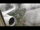 Awesome HD 757 Takeoff Out of Rain Soaked Tulsa