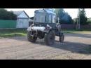 Самодельный трактор с движком от УАЗ!