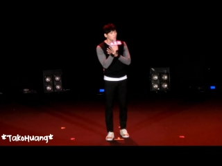 140830 Jichangwook 1st Taiwan FM-池昌旭歌曲表演-對不起(咖啡因)