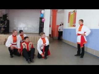 Фестиваль дружбы народов. 13 группа, танец