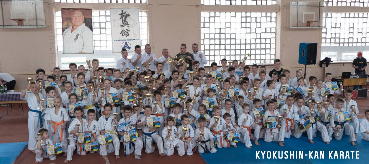 Відкритий Кубок Закарпатської області з кіокушин-кан карате-до серед дітей, юнаків та юніорів у розділі