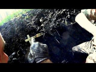 ML26 Раскопки немецкого блиндажа WW2 dugout excavations HD SUB
