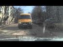 Быдло возит детей в школу г. Калуга школьный газель конченный наркоман